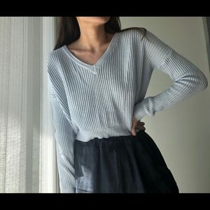 Baby blue brandy Melville sweater